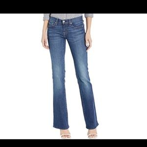 7 FOR ALL MANKIND BOOT CUT BLUE JEANS EUC 26